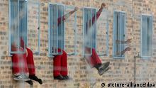 Malmesbury Gefängnis Kapstadt Südafrika Insasse