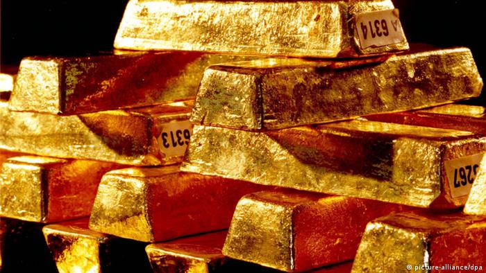 Pictures of gold bars from the German Bundesbank. (Photo: Bundesbank/dpa )