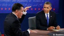 Mitt Romney / Barack Obama / TV-Duell / Boca Raton / USA