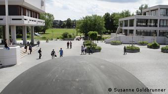 Universität Regensburg. Copyright: Susanne Goldbrunner 21.06.2011, Regensburg Bild geliefert von DW/Elisabeth Stasik/Elzbieta Stasik.