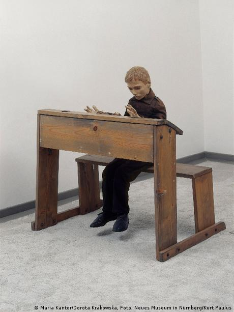 Tadeusz Kantor, Desk, from the theater piece 'The Dead Class' (1975)
