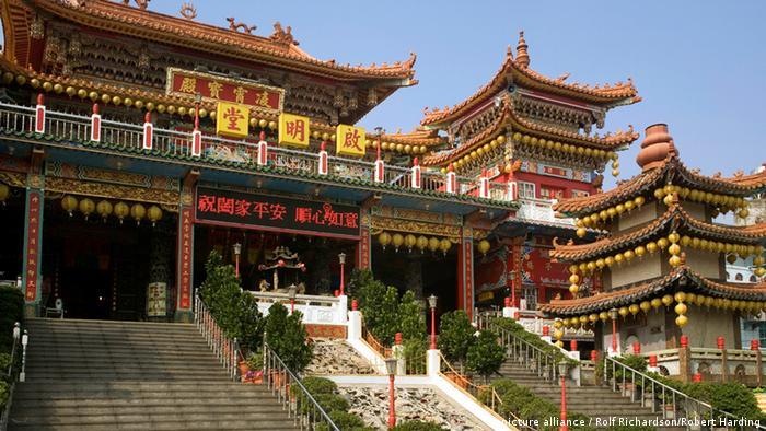 Taiwan - taoistischer Tempel (picture alliance / Rolf Richardson/Robert Harding)