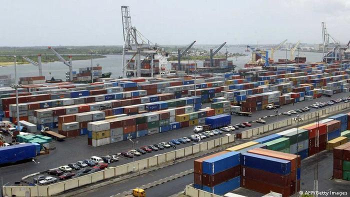 Lagos Port Hafen Nigeria
