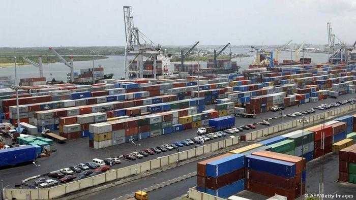 Apapa Terminal in Lagos (AFP/Getty Images)