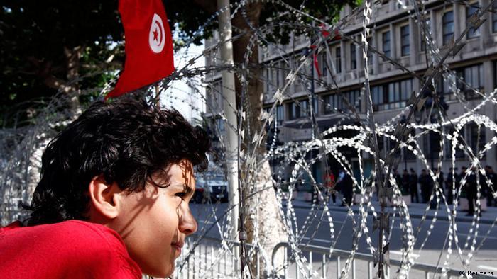 Tunesien Tunis Proteste gegen islamische Regierung