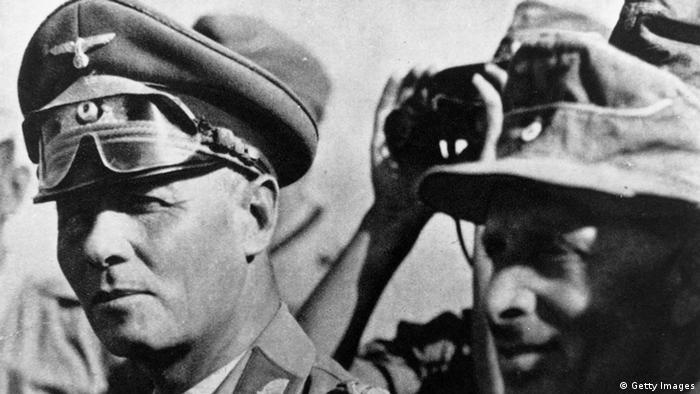 Erwin Rommel als Kommandeur des deutschen Afrikakorps im Jahr 1942 (Foto: Getty Images)