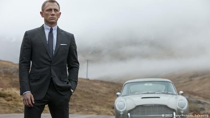Filmszene James Bond Skyfall