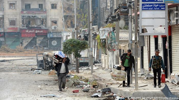 Syrien Bürgerkrieg Lage in Aleppo