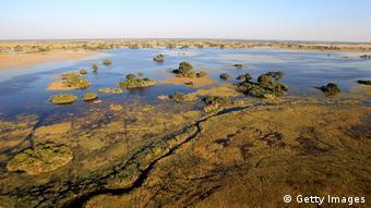 Botswana Fluß Okavango