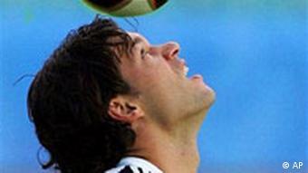 Confederations Cup: Michael Ballack während des Trainings der deutschen Nationalmannschaft