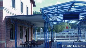 Der Bahnhof von Johanngeorgenstadt Foto: Martin Roddewig (DW)