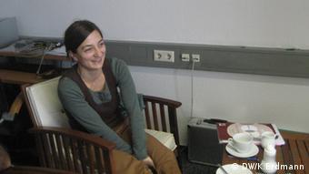Nida Yapar, Referentin für Suchtprävention in Hamburg (Foto: DW/K. Erdmann)
