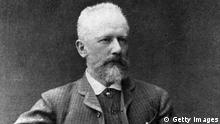 Russian composer Peter Tchaikovsky (1840 - 1893). His works include six symphonies and three piano concertos, only two of which are finished, a violin concerto and eleven operas. (Photo by Hulton Archive/Getty Images)