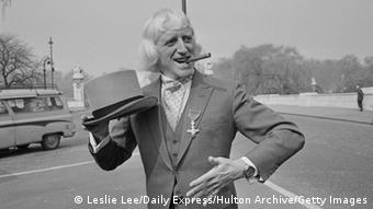 Jimmy Savile (Photo by Leslie Lee/Daily Express/Hulton Archive/Getty Images)