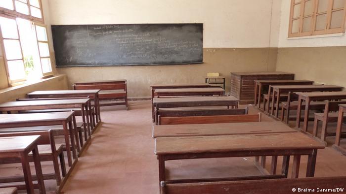 Escola na Guiné-Bissau - foto simbólica