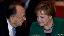 Jubiläum 60 Jahre Ost-Ausschuss der Deutschen Wirtschaft Merkel und Genscher