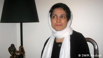 Titel: Iran Menschenrechte Schlagworte: Sotoudeh Nasrin Copy right: frei This Bild is taken directly by me during my trip in Iran. Nasrin Sotoudeh is Human Right activist and lawyer, Sakarov prize of 2012 is given her today. Please Stamp my name on the picture. M.Mesbah