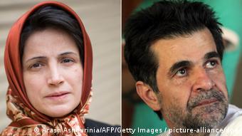 ستوده و پناهی، برندگان جایزه حقوق بشری پارلمان اروپا موسوم به جایزه ساخاروف در سال ۲۰۱۲