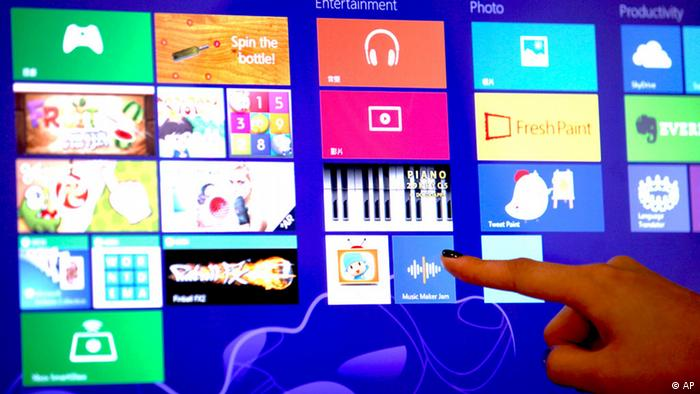 Microsoft Windows 8 operating system Photo:Kin Cheung/AP/dapd