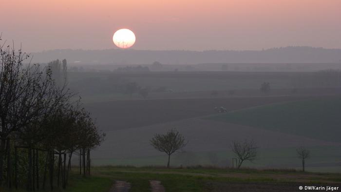 Sunset by Eisenschmitt Copyright: Karin Jäger/ DW am 24.10.2012