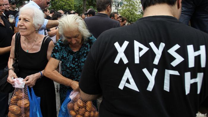 Griechenland Partei - Goldene Morgenröte