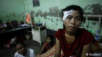 Myanmar Gewalt zwischen Rohingya Muslime und Buddhisten