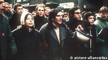 Demonstration Rudi Dutschke und Ehefrau Gretchen