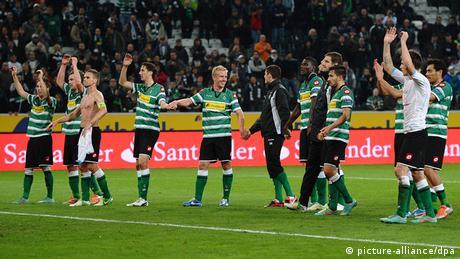 Fußball Europa League: Borussia Mönchengladbach - Olympique Marseille
