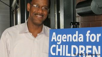 Dr. Tony Recasner, Chef der Kinderbetreuungs-Organisation 'Agenda for Children' in New Orleans (Foto: DW/C. Bergmann)