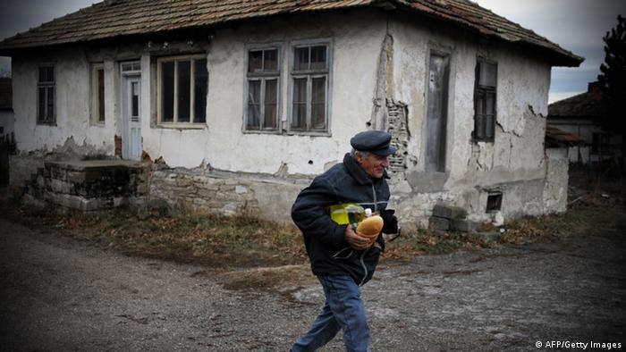 Bulgarien Armut Verfall Voynitsa Sofia