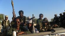 Tschad 2007 CNT Rebellen