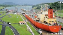 Der Ausbau den Panama-Kanals ist ein zentraler Baustein der wirtschaftlichen Expansionspolitik der Regierung von Präsident Martinelli.