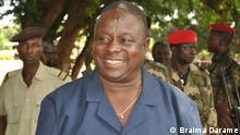 Generalstabschef von Guinea Bissau Antonio Indjai