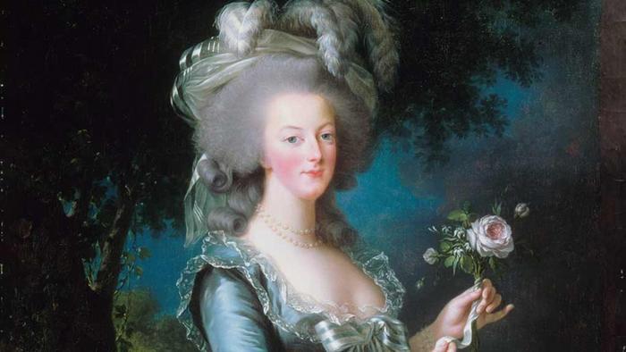 Marie-Antoinette, a portrait by Vigee Le Brun (1783)