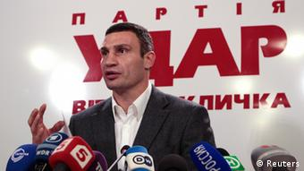 Vitaly Klitschko (photo: REUTERS/Vasily Fedosenko (UKRAINE - Tags: SPORT BOX)