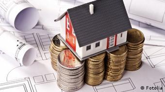 Дом на фундаменте из денег