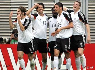 Чемпионат мира по футболу 2006 года немецкий сайт