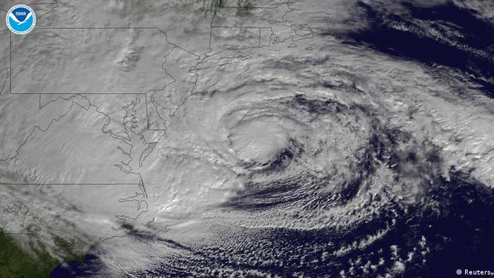 Hurrikan Sandy / Satellitenbild (Foto: REUTERS/NOAA)