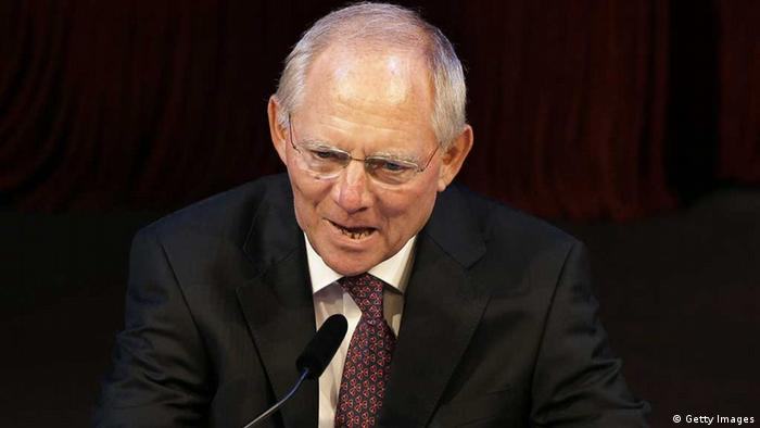 Bundesfinanzminister Wolfgang Schäuble (Foto: afp / GettyImages)