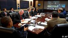 Ο Μπάρακ Ομπάμα και το επιτελείο διαχείρισης τη κρίσης