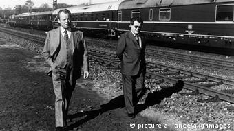 Willy Brandt dhe Günter Guillaume, prill 1974