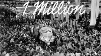 El Escarabajo número un millón.