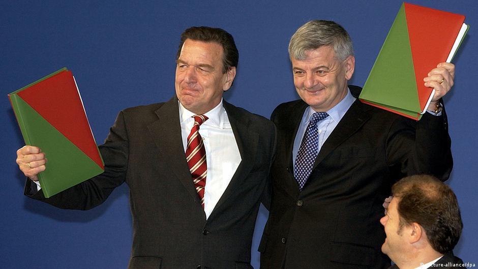 Deutschland Geschichte Kapitel 5 1989 – 1999 Rot-grün Koaltionsvertrag