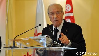 Béji Caïd Essebsi não poupa críticas ao governo tunisino
