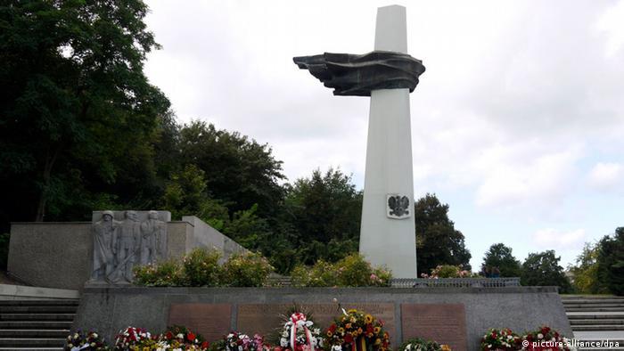 Obecnie rolę centralnego miejsca pamięci polskich ofiar II wojny światowej pełni w Berlinie Pomnik Żołnierza Polskiego i Niemieckiego Antyfaszysty w dzielnicy Friedrichshain (picture-alliance/dpa)