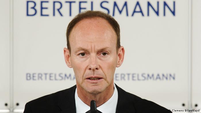 Bertelsmann CEO Thomas Rabe Photo: Clemens Bilan/dapd