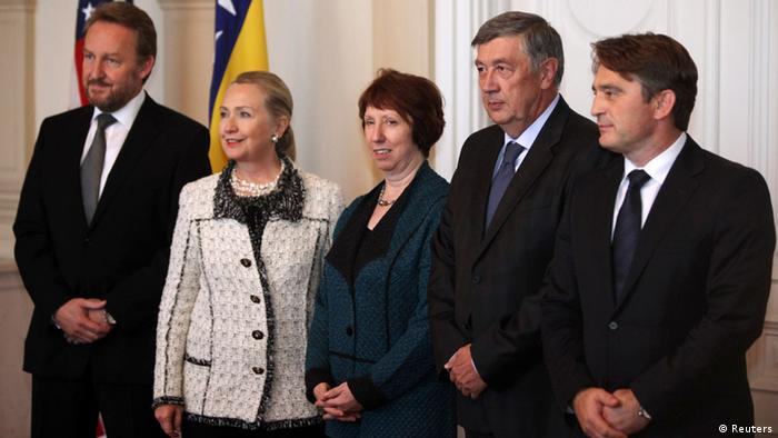 Hillary Clinton in Bosnien