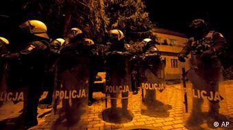 Eine Einheit der EULEX im Kosovo. (Foto: AP/Visar Kryeziu)