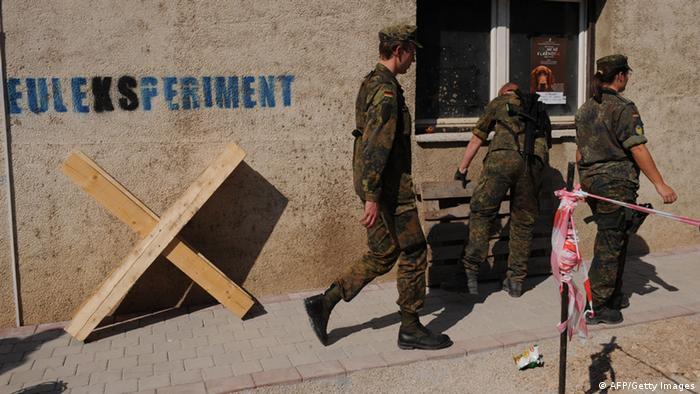Soldaten der EULEX im Kosovo