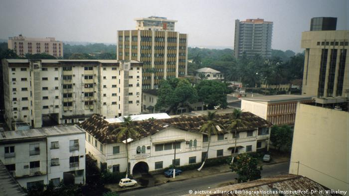 Douala city in Cameroon